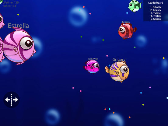 App shopper fish war crazy shark monster multiplayer for Battle fish 2