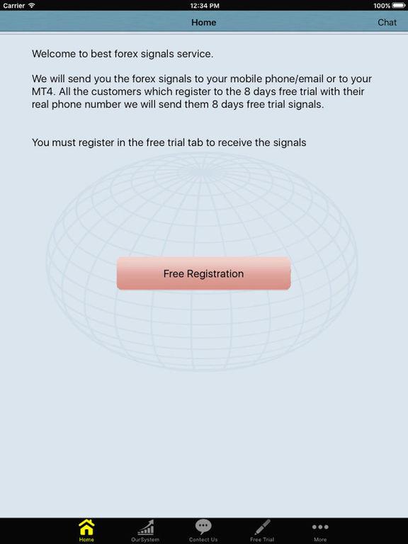 Forex signals ipad app