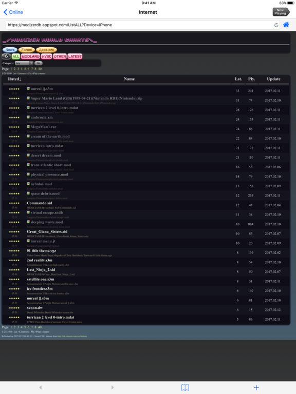 Modizer Screenshots