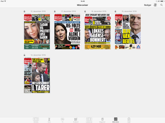 eBladet archive iPad Screenshot 5