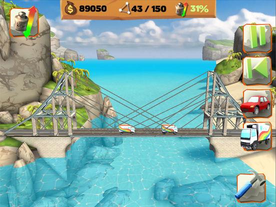 Bridge Constructor Playground Screenshots
