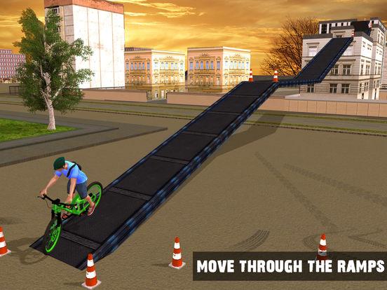 Скачать игру Rooftop Bicycle Stunts Simulator 2017