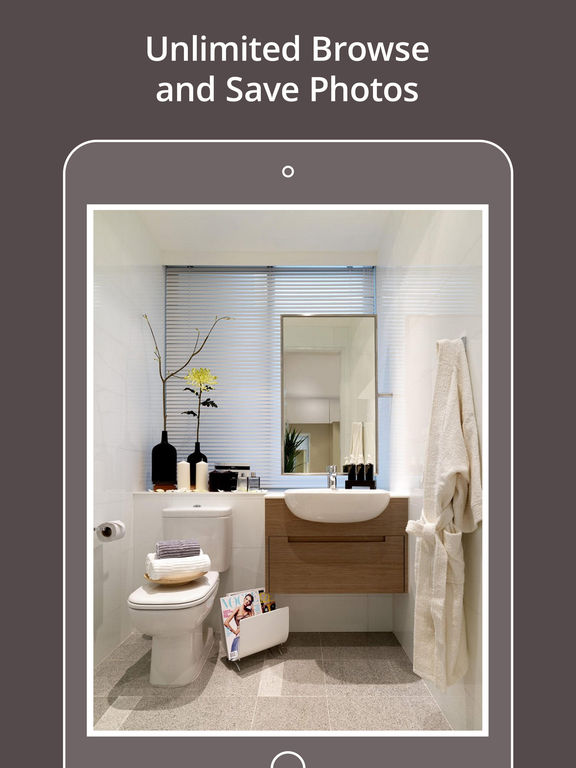 App shopper modern bathroom designs catalogs for Bathroom layout app