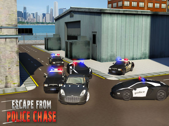 Escape Police Car Chase Game: PRO screenshot 7