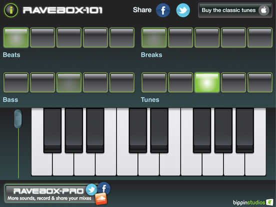 Ravebox iPad Screenshot 2