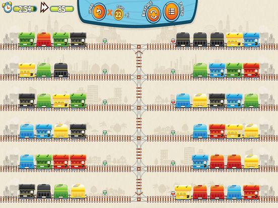 Train Mix логическая головоломка-пасьянс для iPad