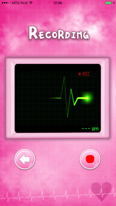 Baby Beat™ Heartbeat monitor Screenshot