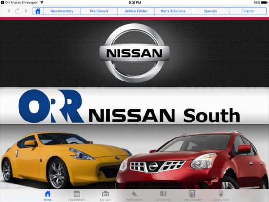 App Shopper Orr Nissan Shreveport Hd Business