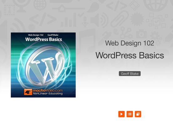 WordPress 101 iPad Screenshot 1