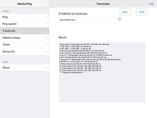 Network Ping Lite iPad Screenshot 4