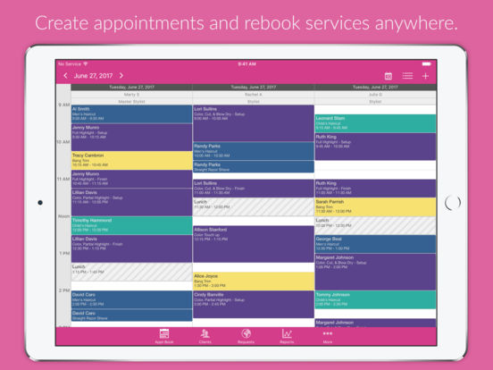Salon Iris iPad Screenshot 1