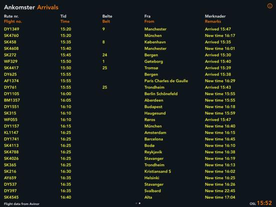 Flytider iPad Screenshot 2