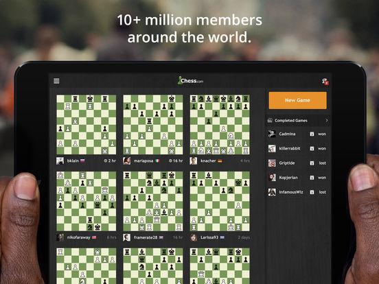Chess.com - Play & Study Chess iPad Screenshot 2