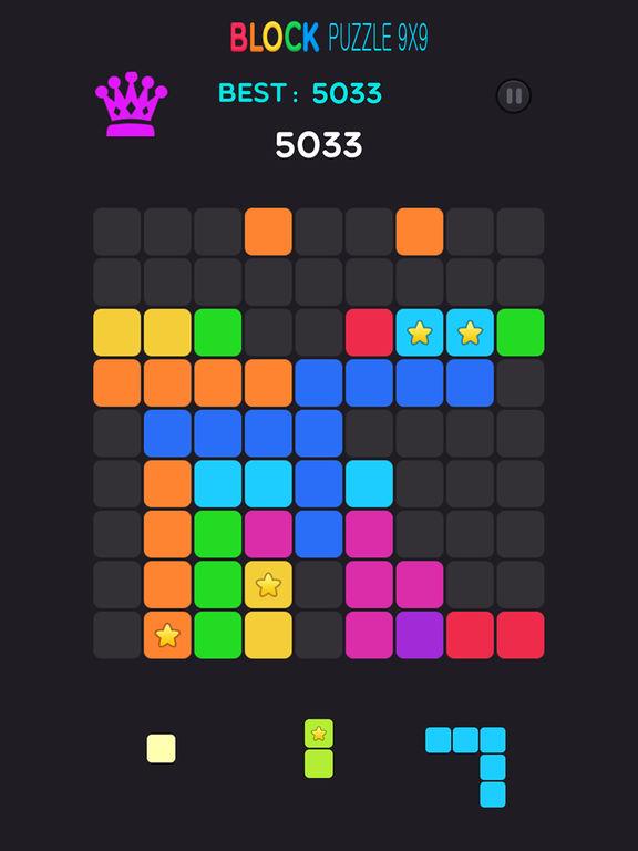 Игра Block Puzzle 9x9