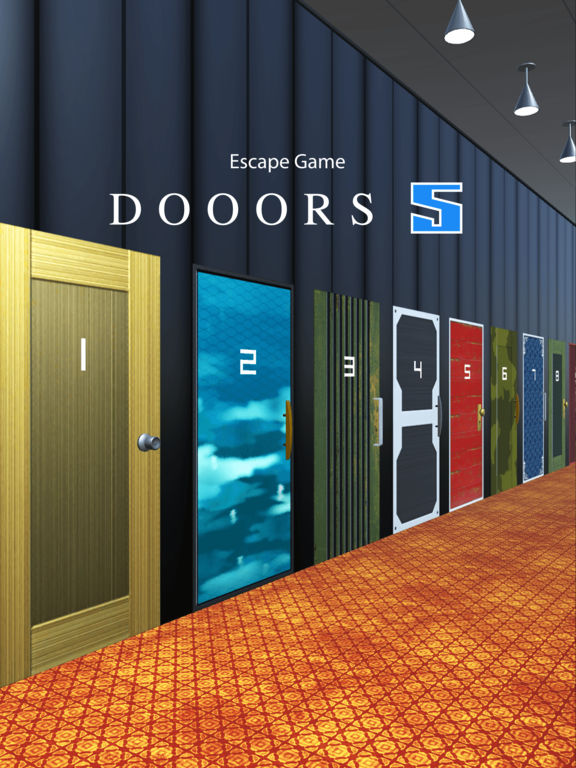 app shopper dooors 5 room escape game games. Black Bedroom Furniture Sets. Home Design Ideas