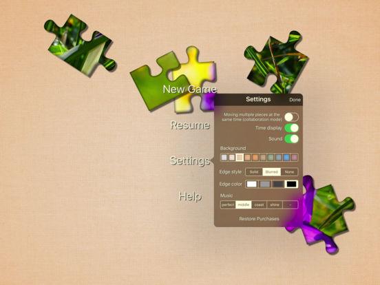 Real Puzzle - MultiShape Jigsaw LITE iPad Screenshot 5