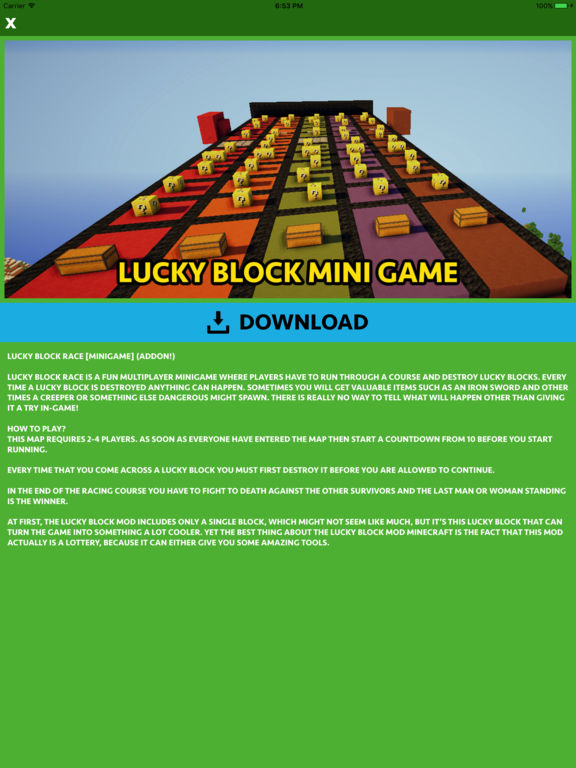 App Shopper: Lucky Block Mod & Addon Guide for Minecraft PC ...