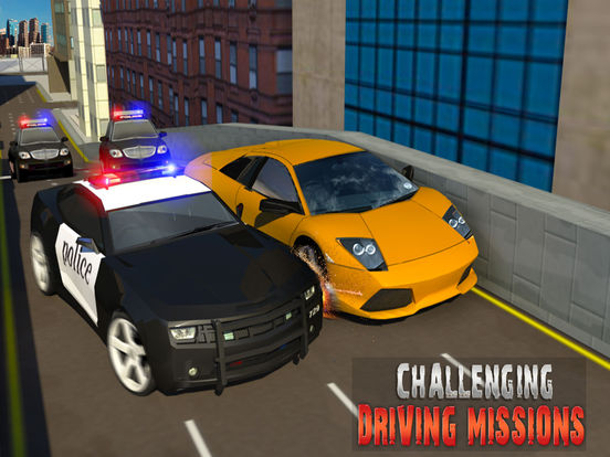 Escape Police Car Chase Game: PRO screenshot 8