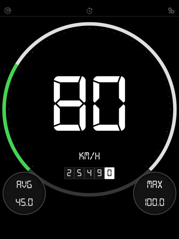 Digital Speedometer PRO - GPS Speed Tracker Screenshots