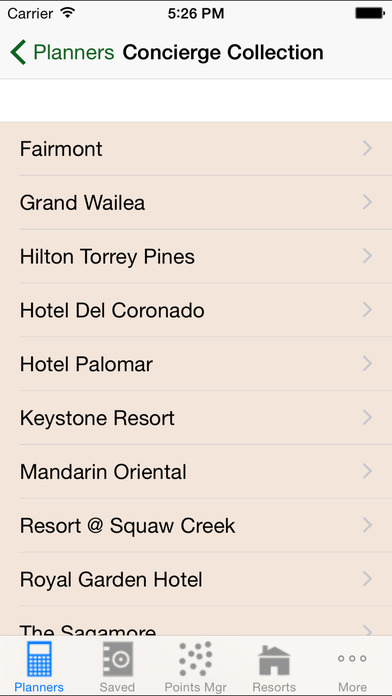 DVC Planner iPhone Screenshot 5
