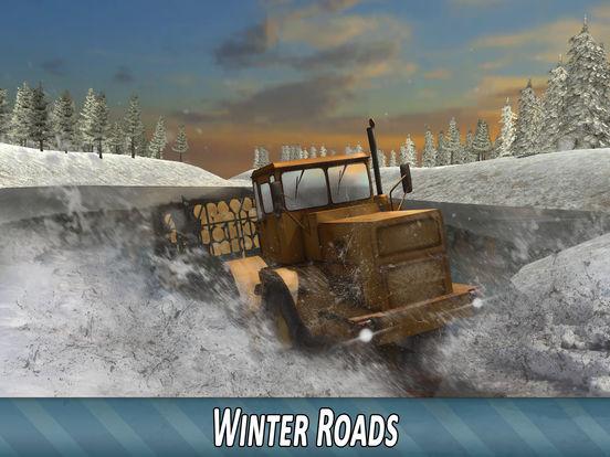 Winter Timber Truck Simulator для iPad
