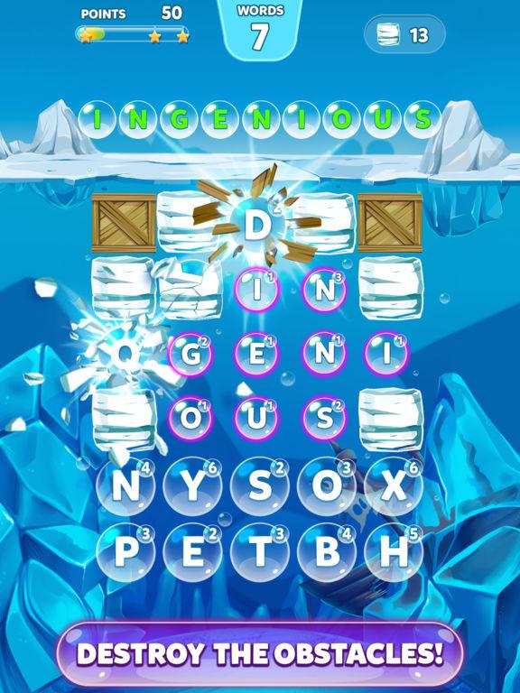 Скачать игру Bubble Words - Letter Splash
