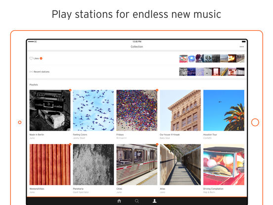 SoundCloud - Music & Audio iPad