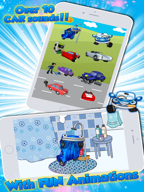 App Shopper: Toddlers Games & Car Puzzles for Kids: Age 1 ...