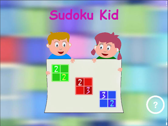 Sudoku Kid iPad Screenshot 1