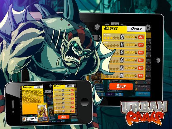 Urban Rivals iPad Screenshot 4