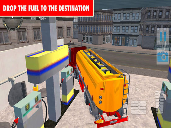 Drive Oil Transport Truck 2017 Pro screenshot 5