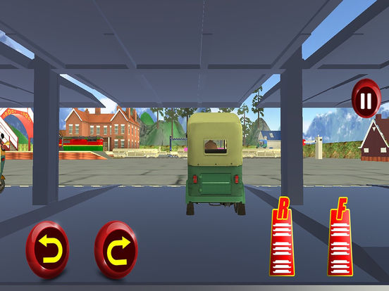 Tuk Tuk Cargo Train Transport Pro screenshot 6