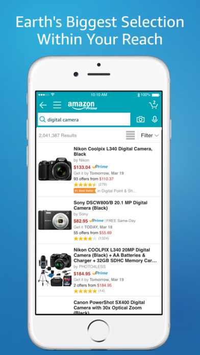 Amazon App: shop, scan, compare, and read reviews screenshot