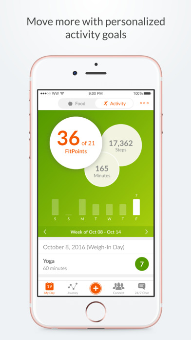 Weight Watchers Mobile iPhone Screenshot 5