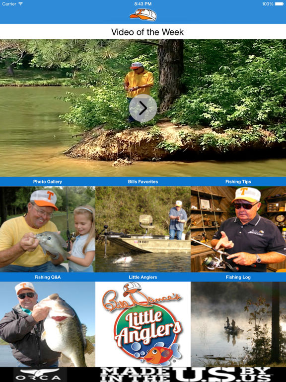 app shopper bill dance sports ForBill Dance Fishing App