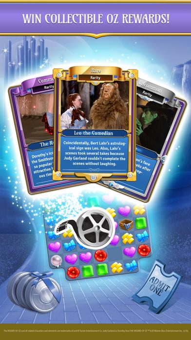 Wizard of OZ: Magic Match Screenshot