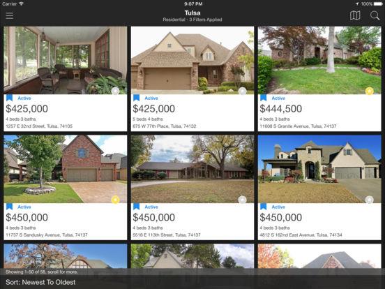 Tulsa MLS iPad Screenshot 2