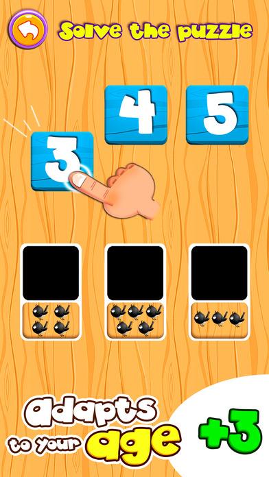 DinoTim: Basic math learning, preschool for kids Screenshots