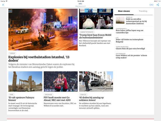 KRANTEN en TIJDSCHRIFTEN iPad Screenshot 1