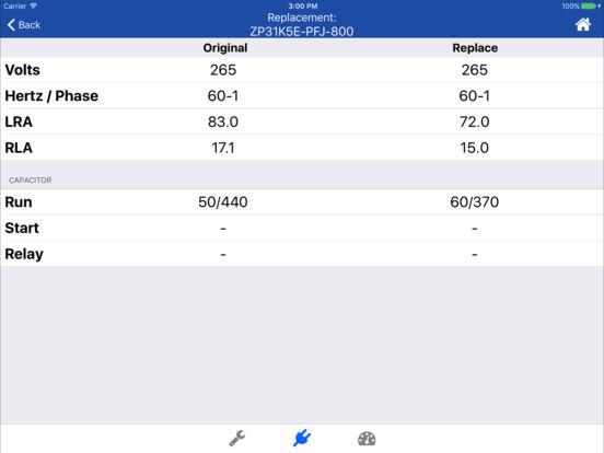 Copeland X-Ref iPad Screenshot 4