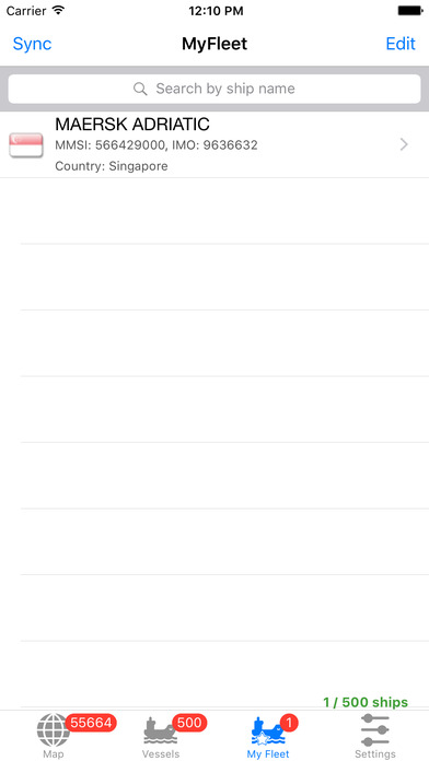 VesselFinder Pro app image