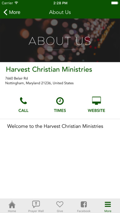 Harvest Christian Ministries screenshot 4