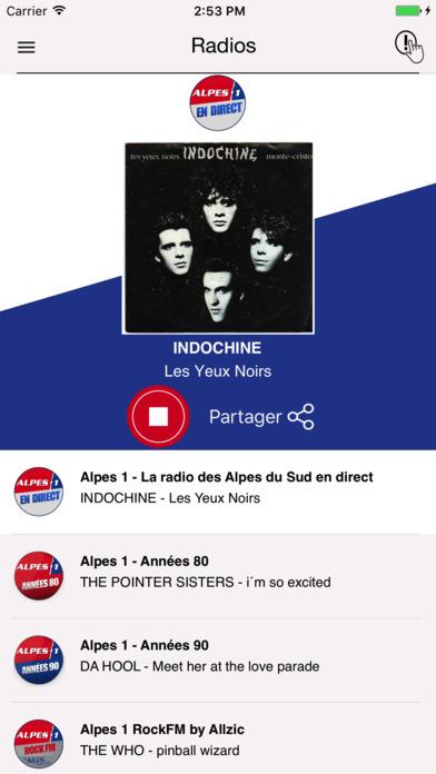 Alpes 1 iPhone Screenshot 1