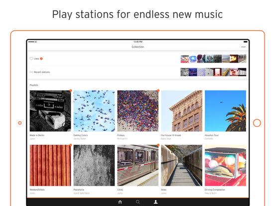 SoundCloud iPad Screenshot 1