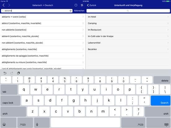 Cofanetto Linguistico tedesco-italiano Accio iPad Screenshot 3