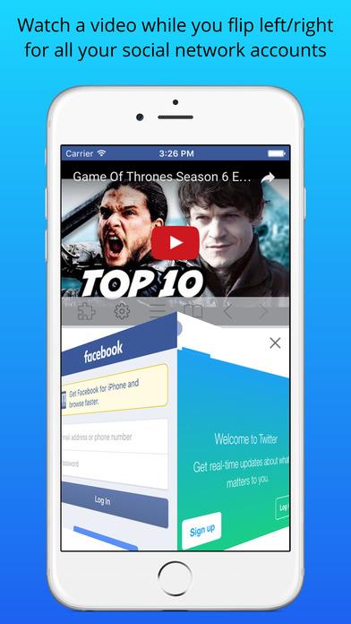 Split Screen Multitasking View for iPhone & iPad Screenshots