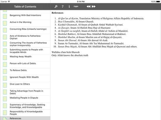 iTaqwa for iPad iPad Screenshot 5