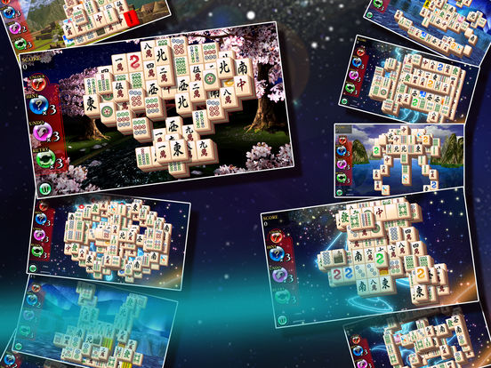 Mahjong Shanghai Free iPad Screenshot 1