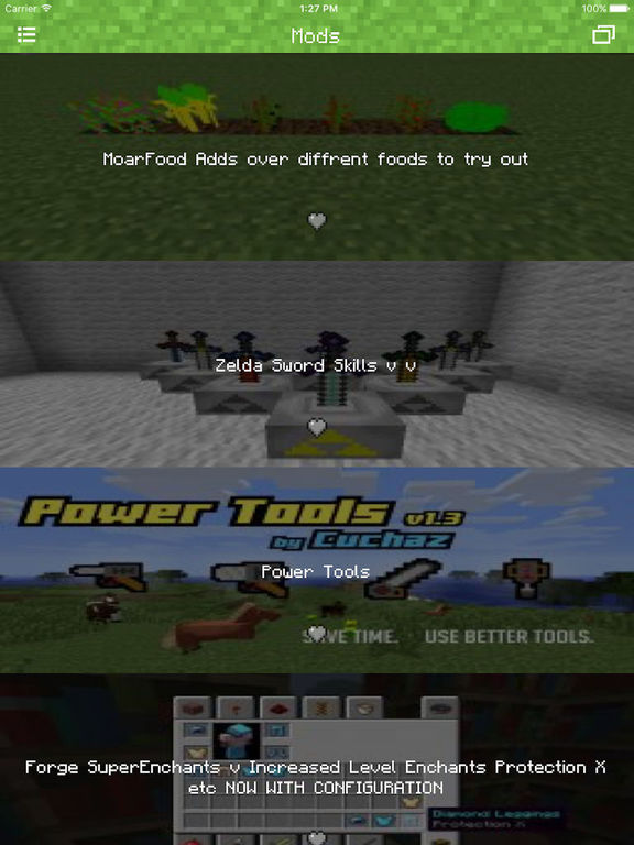 Mods for Minecraft PC & Servers for Minecraft PE Screenshots