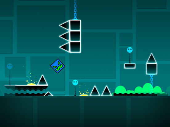 Geometry Dash App iPhone Screenshot #3 (© RobTop Games AB)